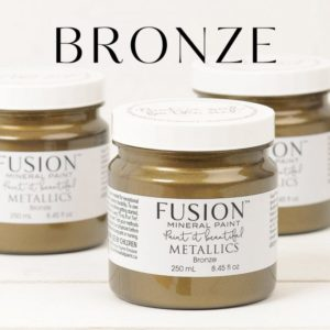 BRONZE fusion mineral paint