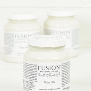 raw silk fusion paint