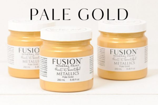 PALE-GOLD fusion mineral paint
