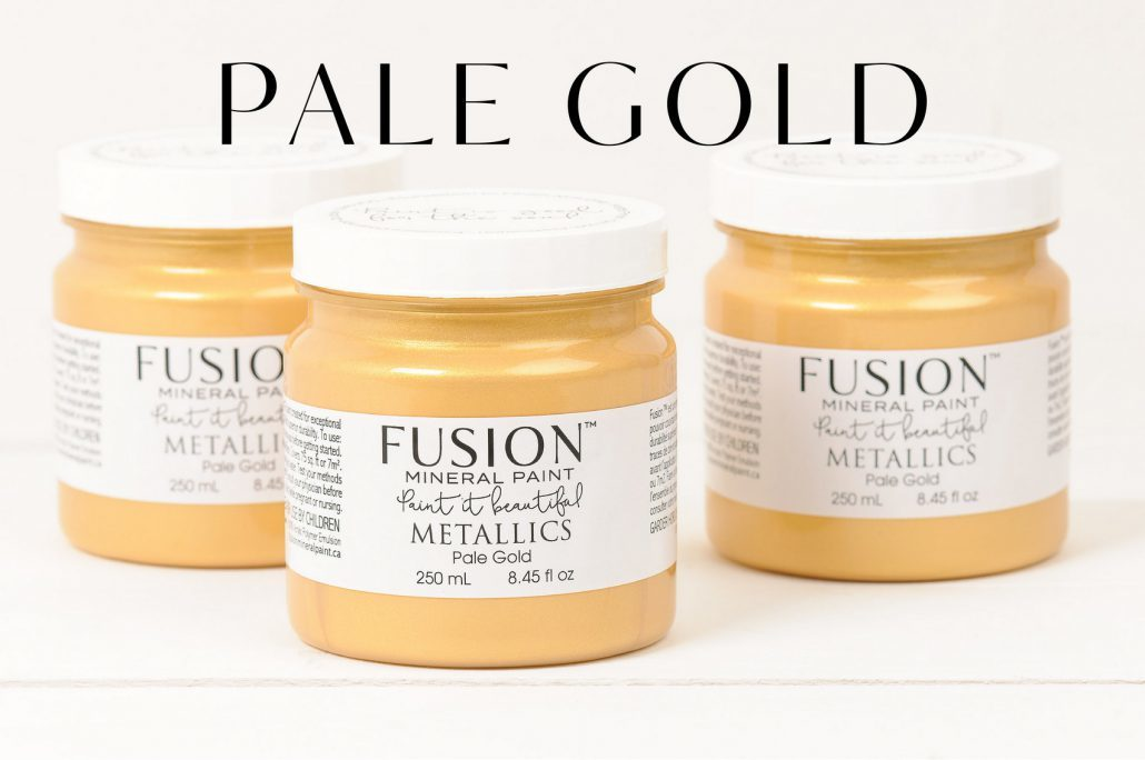 PALE-GOLD fusion mineral paint